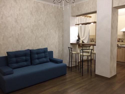 A seating area at STERILE Premium Apartment Mariupol in the center Paris style