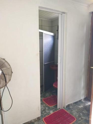 A bathroom at Pousada Margareth
