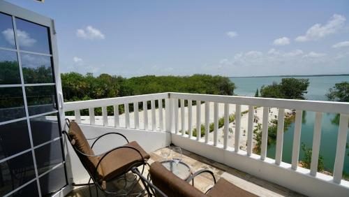 A balcony or terrace at Kat Kasa