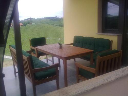 A seating area at Liveza House