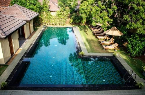 A view of the pool at The Spice Trail or nearby