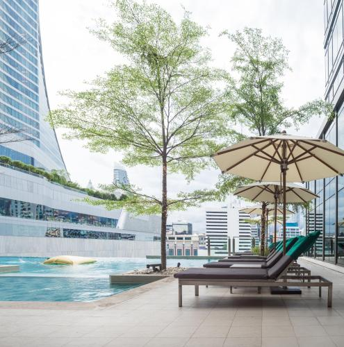 A porch or other outdoor area at Sivatel Bangkok
