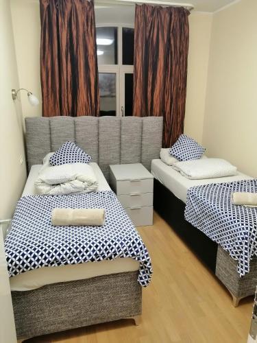 Voodi või voodid majutusasutuse E s t o n i a 17 Hostel toas