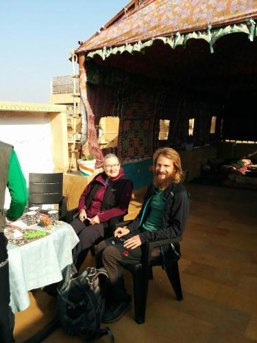 Guests staying at Hotel Namaste Jaisalmer
