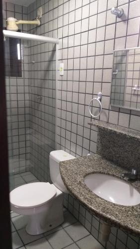Um banheiro em Praia Apart Hotel
