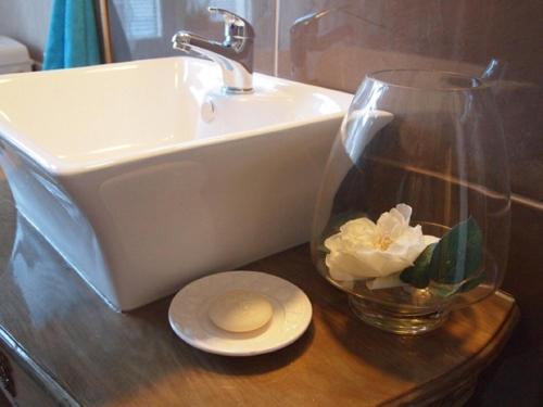 Ein Badezimmer in der Unterkunft Quartier 29
