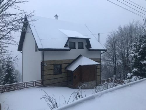 Lucky Kop Apartmani during the winter