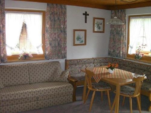 A seating area at Haus Waldblick