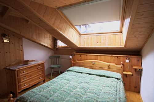 Letto o letti in una camera di Bachlaufen Haus