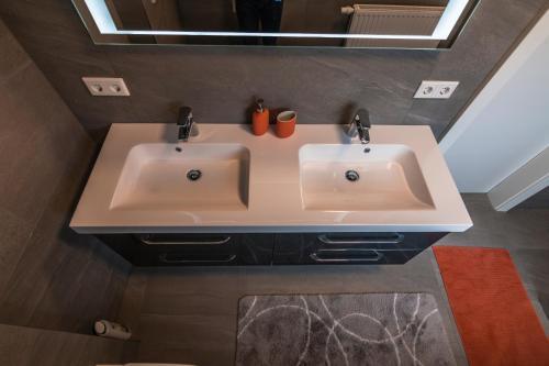 Ein Badezimmer in der Unterkunft Urlaubstraum in Salzburgs Toplage