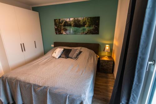 Ein Bett oder Betten in einem Zimmer der Unterkunft Urlaubstraum in Salzburgs Toplage