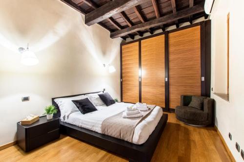 Un ou plusieurs lits dans un hébergement de l'établissement My Pantheon Home