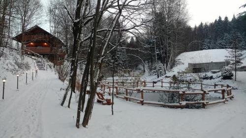 Obiekt SROCZY JAR zimą
