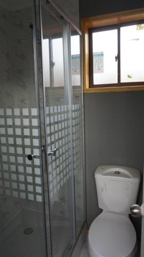 Un baño de Departamentos balneario Pelluco
