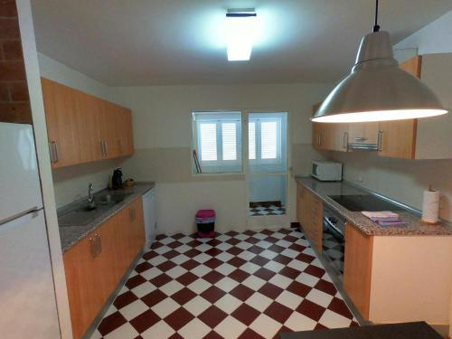 A kitchen or kitchenette at Son Veri D'Abaix