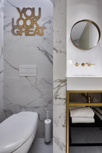 Ванная комната в Отель Акварель
