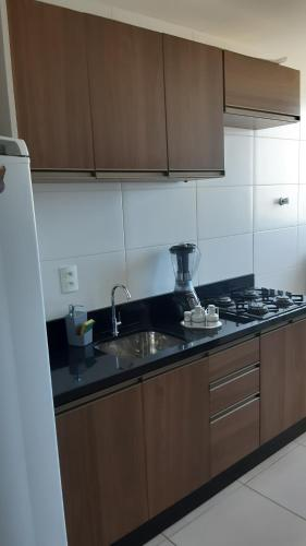 A kitchen or kitchenette at Ap Iuri
