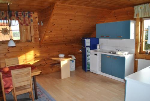 Küche/Küchenzeile in der Unterkunft Ferienanlage Doll