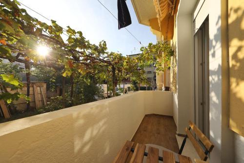 A balcony or terrace at Idassa bridge apartments