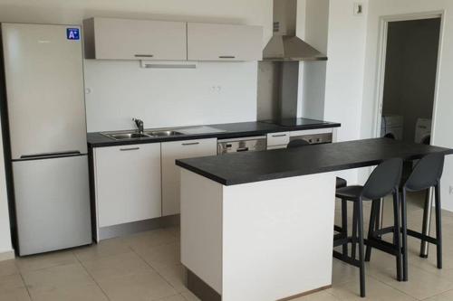 A kitchen or kitchenette at Appartement STENCER