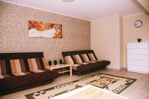 Гостиная зона в Apartamenty Kalina na Nikitina 32