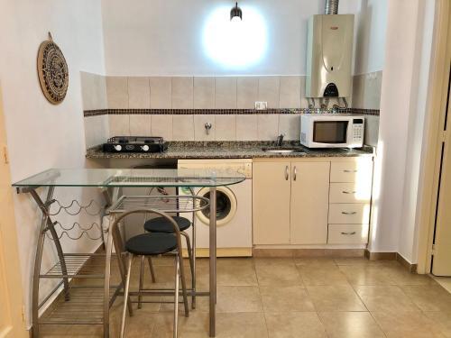 Una cocina o kitchenette en San Nicolás
