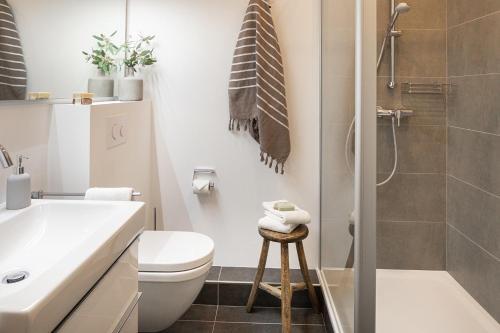 Ein Badezimmer in der Unterkunft Friedrich Inn