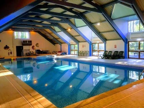 The swimming pool at or near Cornwall Caravan Holidays