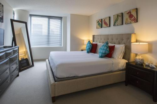 Cama o camas de una habitación en Stay Alfred on Washington Street