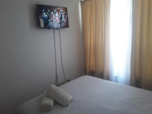 Una televisión o centro de entretenimiento en Depto Metro La Moneda