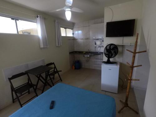 Una televisión o centro de entretenimiento en Apartamento Canasvieiras