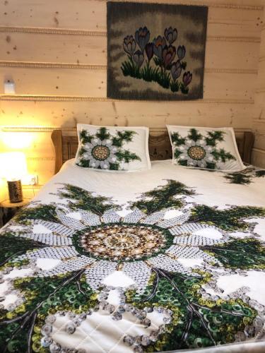 Postel nebo postele na pokoji v ubytování Willa Szafran - apartamenty