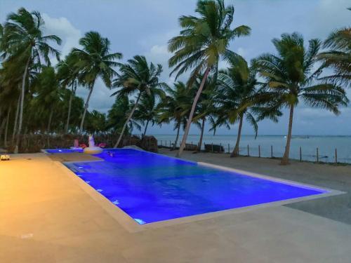 The swimming pool at or near Fazenda Xaréu