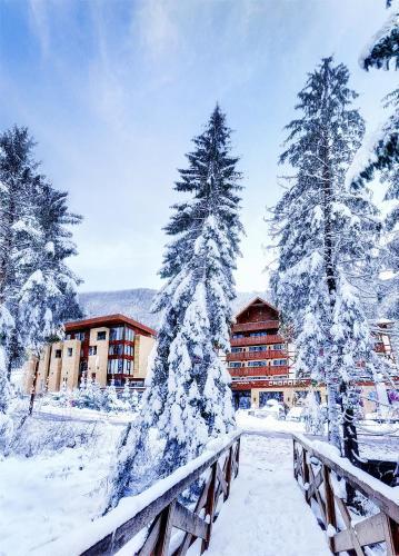 Wellness Hotel Chopok during the winter