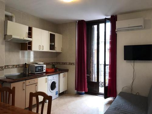 Küche/Küchenzeile in der Unterkunft Apartamento Valverde 3