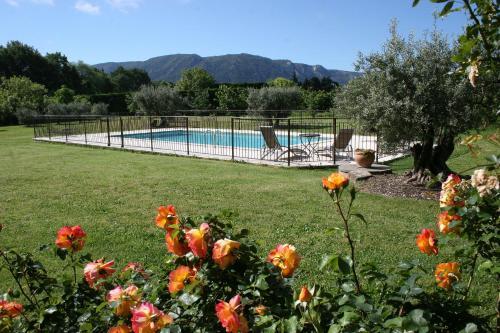 The swimming pool at or near Le Moulin de Felix
