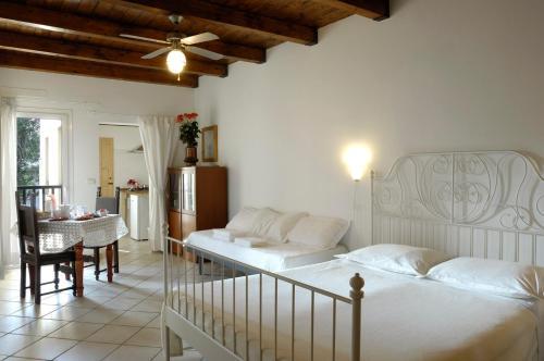 Кровать или кровати в номере Bike on Resort