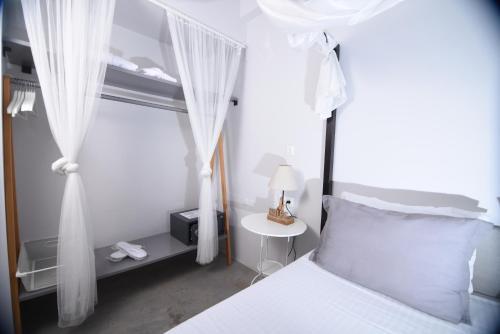 Letto o letti in una camera di Entechnos Living