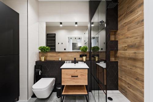 A bathroom at Bed&Bath Novum Apartments