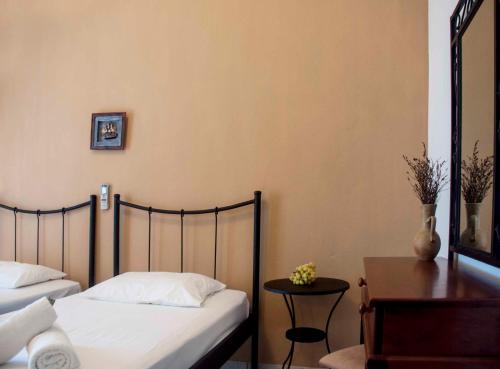 Ένα ή περισσότερα κρεβάτια σε δωμάτιο στο The Farm