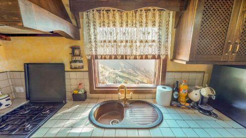 Küche/Küchenzeile in der Unterkunft Villa Masca