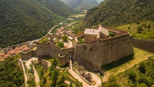 A bird's-eye view of Maison les Ramparts