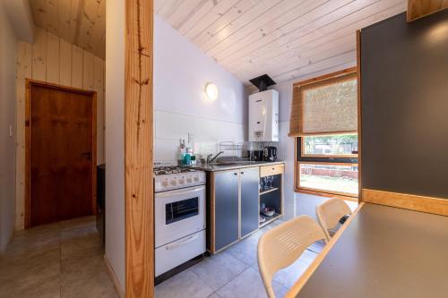 Una cocina o kitchenette en Casas Lo de Tere