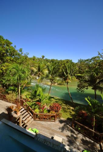 A view of the pool at Mahogany Hall Luxury Boutique Resort or nearby
