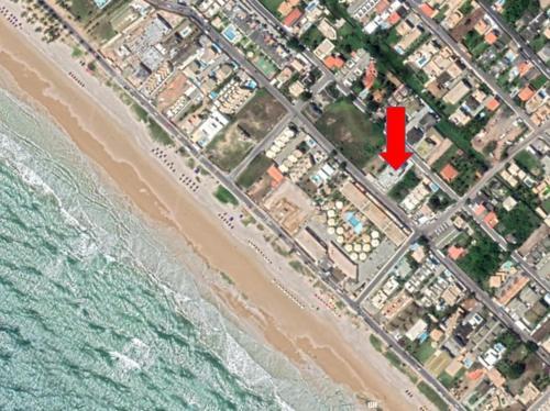 A bird's-eye view of Salvador Praia