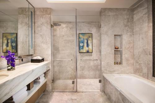 A bathroom at Ascott Macau