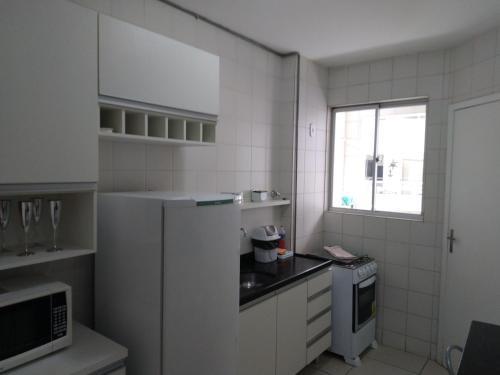 A kitchen or kitchenette at Edificio São Francisco