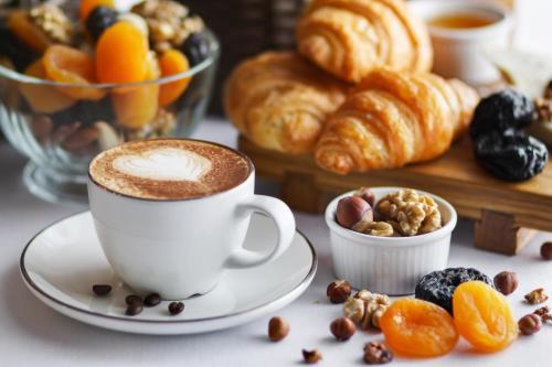 Frühstücksoptionen für Gäste der Unterkunft Ferien Appartements am Berghotel Oberhof (ex Parkhotel)