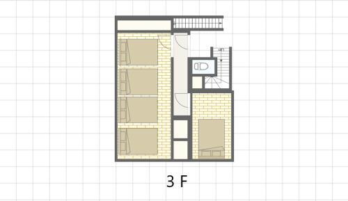 Condominium Tsudoi Fukuokaの見取り図または間取り図