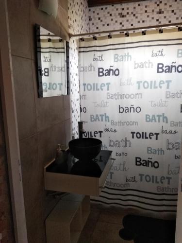 Un baño de CASA NOSTRA